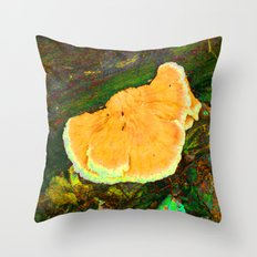 a m o n g t h e f u n g u s Throw Pillow
