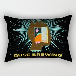 RUSE BREWING - THOUGHT FREQUENCY Rectangular Pillow