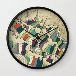 Good Book Wall Clock
