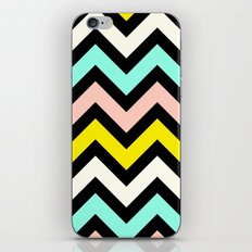 Chevron Sunny Day iPhone Skin