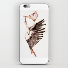Baby on Bird iPhone Skin