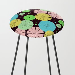 Water Lily Counter Stool