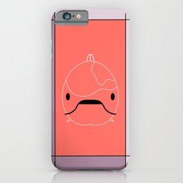 Goldfish Line Art  iPhone Case