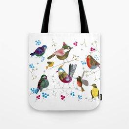 birds2 Tote Bag