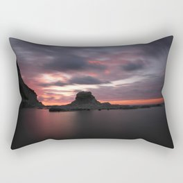 Passetto rocks on sunset Rectangular Pillow