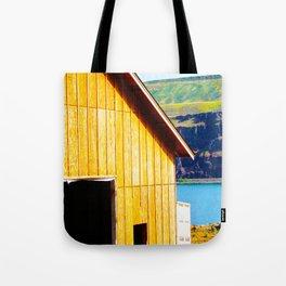 Wine Barn Riverside Tote Bag