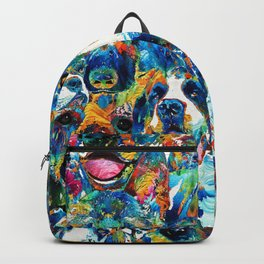 Dog Lovers Delight - Sharon Cummings Backpack
