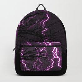 Awesome Lilac Thunder Strike And Ghastly Critter UHD Backpack