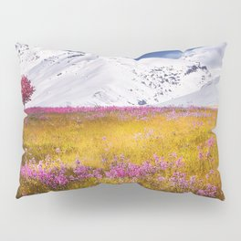 When Flowers Bloom And The Mountains Froze Pillow Sham