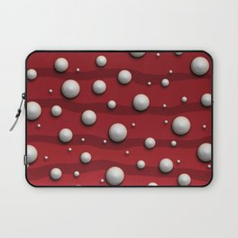 Alien Bubble Skin Red Laptop Sleeve