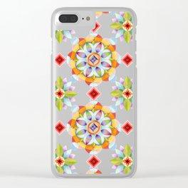 Beaux Arts Mandala Clear iPhone Case