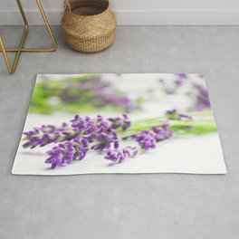 #Lavender #beauty #herb #still #life Rug