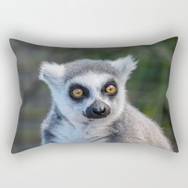 Ring Tailed Lemur Rectangular Pillow