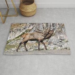 Wapiti Bugling (Bull Elk) Rug