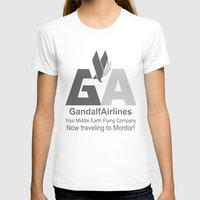 gandalf T-shirts featuring Gandalf Airlines by Faniseto