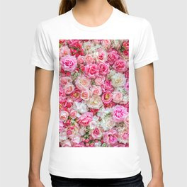 Pink & Red Roses T-shirt