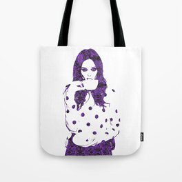 Tea Cup: Coco Rocha Tote Bag
