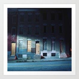 Baltimore, MD Art Print