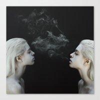 soul Canvas Prints featuring Soul by Jovana Rikalo
