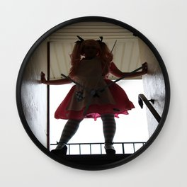 Coming for you Wall Clock