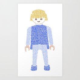 Playmobil Art Print