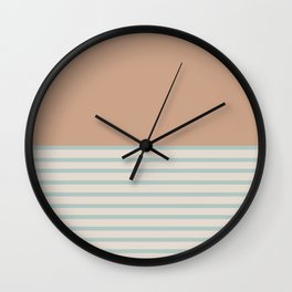 Sunrise / Sunset XIII Wall Clock
