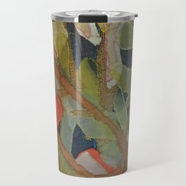 Exotic abstract patterns of nature Travel Mug