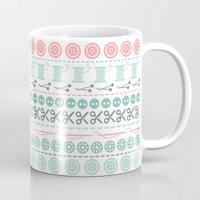 sewing Mugs featuring Sewing by Heleen van Buul