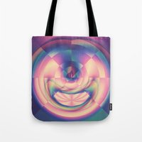 apple Tote Bags featuring Apple by Truly Juel