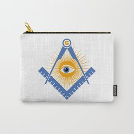 Freemasonry symbol Carry-All Pouch