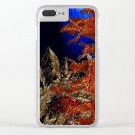 Fragment of Sorrow Clear iPhone Case