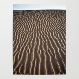Lines in the sand - Sahara Poster