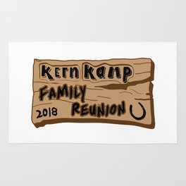 Kern Family Reunion 2018 Rug