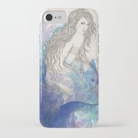 pisces iPhone & iPod Cases featuring Pisces by katiwo