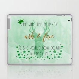 Heir of fire Laptop & iPad Skin