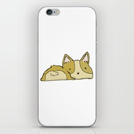 Corgi Bootie iPhone Skin