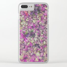 In Bloom on Steroids Clear iPhone Case