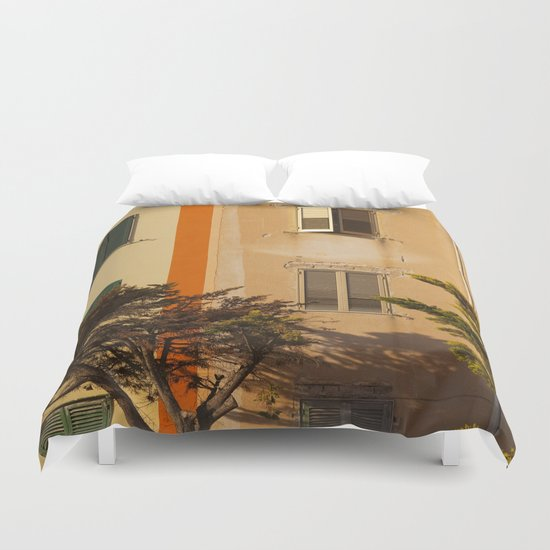 Open Window Duvet Cover