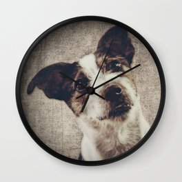 Jack Russel Terrier Wall Clock