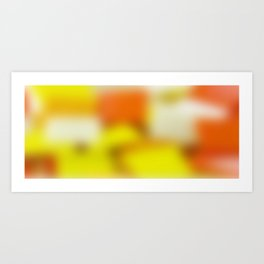 Colour Mug 14 Art Print