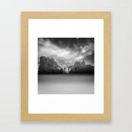 Monochrome Days Framed Art Print
