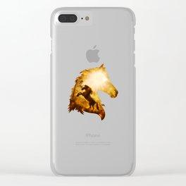Wild Spirit Clear iPhone Case
