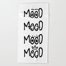 All of my moods Beach Towel