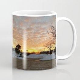Winter Sunset, Chicago, 2018 Coffee Mug