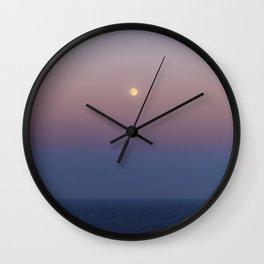 High sea full Moon Wall Clock