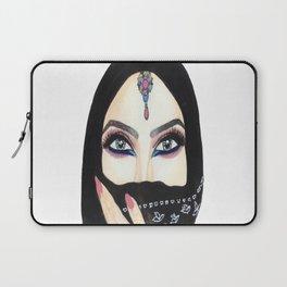 Arabic eyes Laptop Sleeve