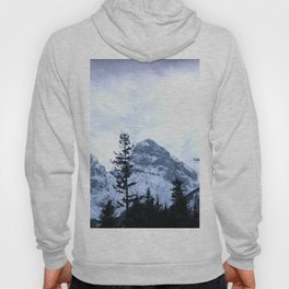 Mystic Three Sisters Mountains - Canadian Rockies Hoody