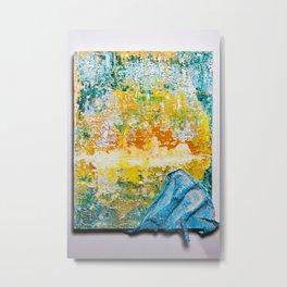 Tropical Wedge Metal Print
