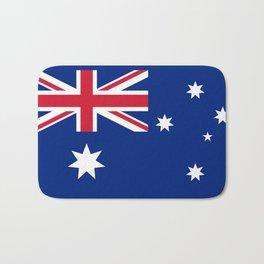 The National flag of Australia, authentic version (color & scale 1:2) Bath Mat