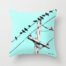 Brooke Figer - Assimilate Throw Pillow